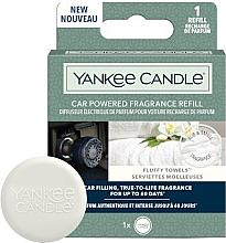 Parfüm, Parfüméria, kozmetikum Autóillatosító - Yankee Candle Car Powered Fragrance Refill Fluffy Towels (utántöltő)