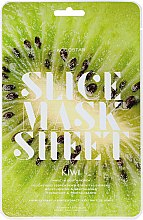 "Parfüm, Parfüméria, kozmetikum ""Kivi"" darabos arcmaszk - Kocostar Slice Mask Sheet Kiwi"