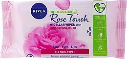 Parfüm, Parfüméria, kozmetikum Sminklemosó kendő rózsavízzel - Nivea Micellair Skin Breathe Makeup