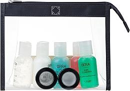 Parfüm, Parfüméria, kozmetikum Szett - Ofra Skin Care Kit Normal (cleanser/30ml + f/ton/30ml + eye/remover/30ml + f/cr/30ml + eye/gel/30ml + f/peel/7ml + f/mask/7ml + bag)