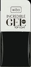 Parfüm, Parfüméria, kozmetikum Körömerősítő fedőlakk - Wibo Incredible Gel Top Coat