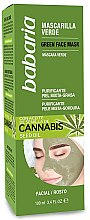 Parfüm, Parfüméria, kozmetikum Arctisztító maszk - Babaria Cannabis