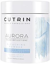 Parfüm, Parfüméria, kozmetikum Illatmetes szőkítőpor hajszerkezet védő technológiával - Cutrin Aurora Core Defence Bleach Powder