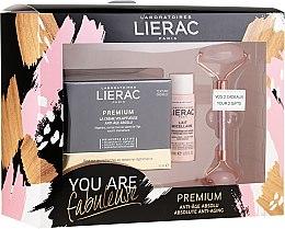 Parfüm, Parfüméria, kozmetikum Szett - Lierac Premium Anti-Age Absolu Set (f/cr/50ml + f/milk/30ml + roller/1pcs)