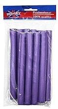Parfüm, Parfüméria, kozmetikum Professzionális puha hajcsavaró 20/210, lila - Ronney Professional Flex Rollers