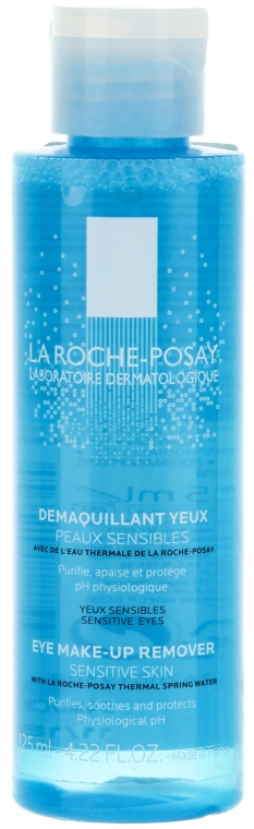 Fiziológiai sminkeltávolító szer - La Roche-Posay Physiological Eye Make-up Remover 125ml — fotó N1