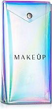 """Parfüm, Parfüméria, kozmetikum Ecsettartó """"Holographic"""", 20x10x4 cm - MakeUp"""