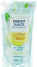 """Parfüm, Parfüméria, kozmetikum Micellás szer """"Dinnye"""" - Bielenda Fresh Juice Detoxifying Face Micellar Water Melon"""