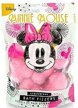"Parfüm, Parfüméria, kozmetikum Fürdőbomba ""Eper"" - Mad Beauty Disney Minnie Mouse Bath Fizzer Strawberry"