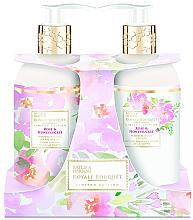 Parfüm, Parfüméria, kozmetikum Szett - Baylis & Harding Royal Bouquet Rose & Honeysuckle (b/lot/300ml + soap/300ml)