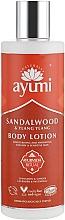 "Parfüm, Parfüméria, kozmetikum Testápoló lotion ""Szantál fa és ilang-ilang"" - Ayumi Sandalwood & Ylang Ylang Body Lotion"