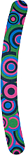 Parfüm, Parfüméria, kozmetikum Banán alakú körömreszelő 180/180, színes körök - Donegal