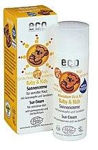 Parfüm, Parfüméria, kozmetikum Vízálló napozó krém gyerekeknek SPF 45 - Eco Cosmetics Baby Sun Cream SPF 45