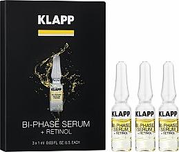 """Parfüm, Parfüméria, kozmetikum Kétfázisú szérum """"Retinol"""" - Klapp Bi-Phase Serum Retinol"""