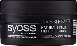 Parfüm, Parfüméria, kozmetikum Hajformázó paszta - Syoss Invisible Paste Light Control