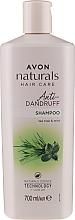 "Parfüm, Parfüméria, kozmetikum Korpásodás elleni sampon "" Menta és teafa"" - Avon Naturals Herbal Hair Care Shampoo"