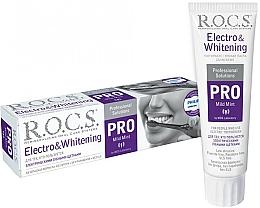 Parfüm, Parfüméria, kozmetikum Fogkrém elektromos fogkeféhez - R.O.C.S. Pro Electro & Whitening Mild Mint