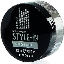 Parfüm, Parfüméria, kozmetikum Modellező elasztikus paszta memória hatással - Inebrya Style-In Memory Gum Paste