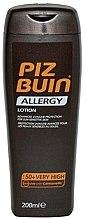 Parfüm, Parfüméria, kozmetikum Napvédő testápoló - Piz Buin Allergy Sun Sensitive Skin Lotion SPF50