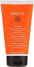 Parfüm, Parfüméria, kozmetikum Helyreállító kondicionáló minden hajtípusra naranccsal és mézzel - Apivita Shine And Revitalizing Conditioner For All Hair Types With Orange & Honey