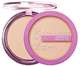 Parfüm, Parfüméria, kozmetikum Arcpúder - Gabriella Salvete Nude Powder SPF15