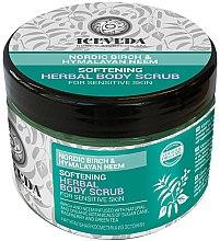 Parfüm, Parfüméria, kozmetikum Testradír - Natura Siberica Iceveda Nordic Birch&Hymalayan Neem Softening Herbal Body Scrub