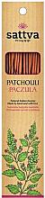 """Parfüm, Parfüméria, kozmetikum Aromapálcikák """"Pacsuli"""" - Sattva Patchouli"""