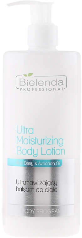 Ultra hidratáló testápoló lotion - Bielenda Professional Body Program Ultra Moisturizing Body Lotion