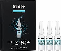 """Parfüm, Parfüméria, kozmetikum Kétfázisú szérum """"Hialuron"""" - Klapp Bi-Phase Serum Hyaluron"""