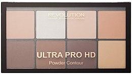 Parfüm, Parfüméria, kozmetikum Bőrvilágosító paletta - Makeup Revolution HD Pro Powder Contour