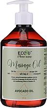 Parfüm, Parfüméria, kozmetikum Masszázsolaj - Eco U Avocado Massage Oil