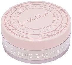 Parfüm, Parfüméria, kozmetikum Porpúder - Nabla Close-Up Baking Setting Powder