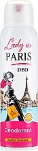 Parfüm, Parfüméria, kozmetikum Dezodor - Lady In Paris Deodorant