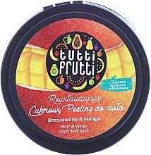 """Parfüm, Parfüméria, kozmetikum Cukros testradír """"Őszibarack és mangó"""" - Farmona Tutti Frutti Sugar Scrub"""
