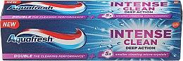 "Parfüm, Parfüméria, kozmetikum Fogkrém ""Intense Clean Deep Action"" - Aquafresh Intense Clean Deep Action Toothpaste"