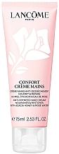 Parfüm, Parfüméria, kozmetikum Hidratáló és helyreállító kézkrém méz kivonatával és rózsavízzel - Lancome Confort