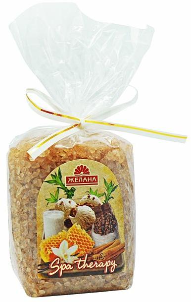 """Fürdősó """"Forró csokoládé és koricca"""" - Zhelana"""
