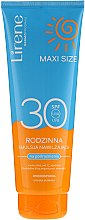 Parfüm, Parfüméria, kozmetikum Napozó emulzió - Lirene Sun Care Moisturizing Emulsion SPF30