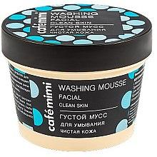 "Parfüm, Parfüméria, kozmetikum Arctisztító mousse ""Tiszta bőr"" - Cafe Mimi Washing Mousse Facial Clean Skin"