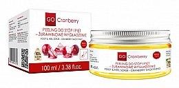 Parfüm, Parfüméria, kozmetikum Láb- és sarokradír - GoCranberry Cranberry Smoothing Foot & Heel Scrub