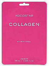 Parfüm, Parfüméria, kozmetikum Anti-age maszk kollagénnel bőr rugalmasságáért - Kocostar Collagen Mask
