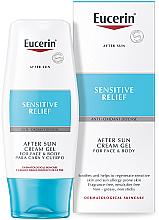Parfüm, Parfüméria, kozmetikum Napozás utáni krém-gél - Eucerin After Sun Creme-Gel for Sensitive Relief