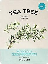 Parfüm, Parfüméria, kozmetikum Szövetmaszk teafa kivonattal - It's Skin The Fresh Mask Sheet Tea Tree