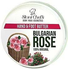 """Parfüm, Parfüméria, kozmetikum Krém kézre és lábra """"Bolgár rózsa"""" - Hristina Cosmetics Stani Chef's Bulgarian Rose Hand & Foot Butter"""