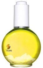 Parfüm, Parfüméria, kozmetikum Körömágy ápoló olaj - Silcare Nail & Cuticle Oil Lemon Yellow