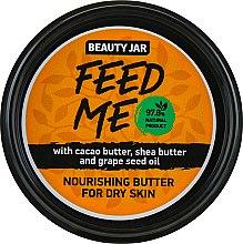 "Parfüm, Parfüméria, kozmetikum ""Feed me"" testápoló olaj - Beauty Jar Nourishing Butter For Dry Skin"