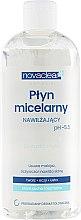 Parfüm, Parfüméria, kozmetikum Micellás folyadék száraz és normál bőrre - Novaclear Moisturizing Micellar Water