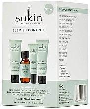Parfüm, Parfüméria, kozmetikum Szett - Sukin Blemish Control Kit (face/gel/50ml+toner/50ml+gel/15ml+cr/50ml) (125 ml)