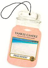 "Parfüm, Parfüméria, kozmetikum Illatosító ""Rózsaszín homok"" - Yankee Candle Pink Sands Car Jar Ultimate"