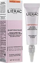 Parfüm, Parfüméria, kozmetikum Energetikus gél-krém szemkörnyék fáradtság ellen - Lierac Dioptifatigue Fatigue Correction Re-Energizing Gel-Cream